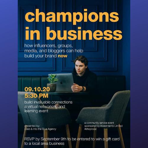 Champions In Business Webinar