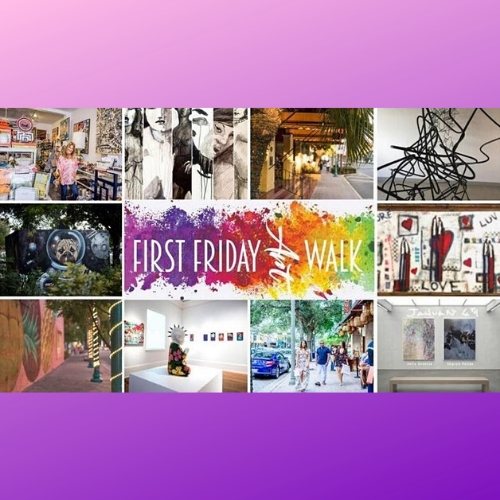 Virtual & In Person: Downtown Delray Beach First Friday Art Walk