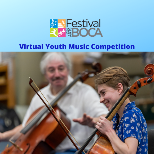 Festival Of The Arts Boca Announces Virtual Youth Music Competition For Broward And Palm Beach County Students