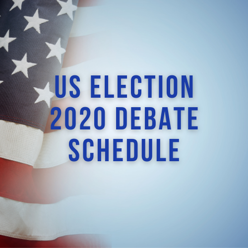US Election 2020 Debate Schedule