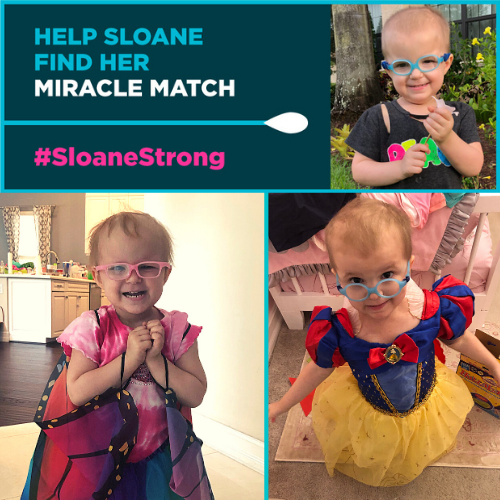 Sloane Needs a Bone Marrow Transplant and You Could Be Her Match!