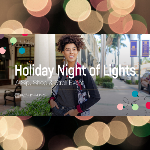 Holiday Night of Lights at Royal Palm Place