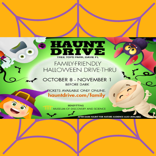 Haunt Drive at Tree Top Park Family-Friendly Drive-Thru