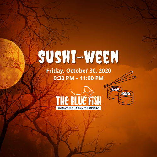Sushi-ween at The Blue Fish Boca in Mizner Park