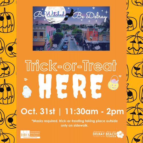 Trick-or-Treat on the Ave Downtown Delray Beach