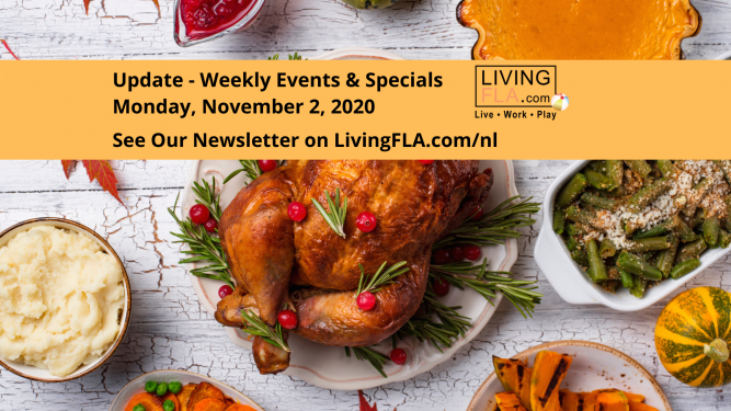 LivingFLA Events and Specials For Week of November 2.