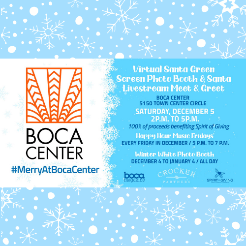 Boca Center Holiday Events