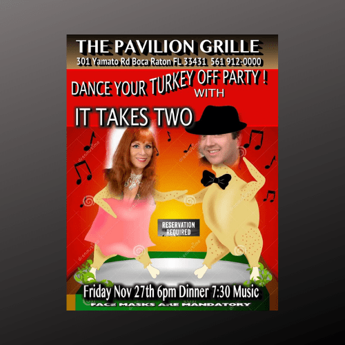 It Takes Two Fabulous Fridays at The Pavilion Grille