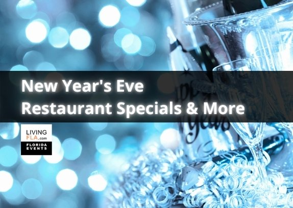 New Year's Eve Restaurant Specials and More!