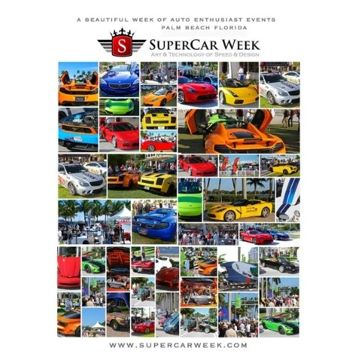 Supercar Week West Palm Beach Waterfront Grand Finale Car Show