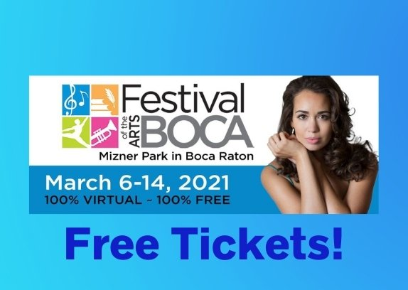 Festival of the Arts Boca - 2021 Events