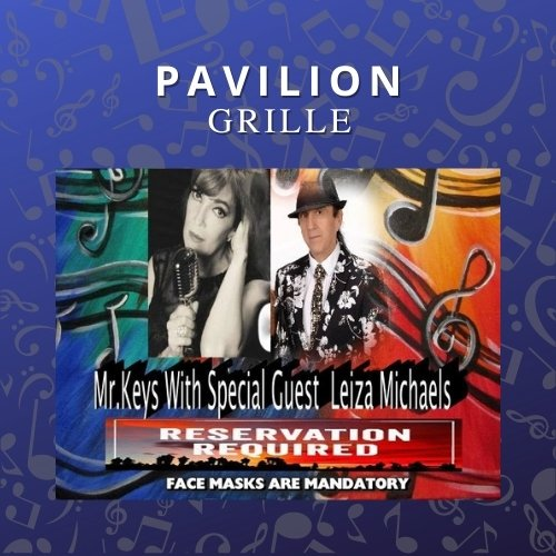 Pavilion Grille Dinner and a Show with It Takes Two