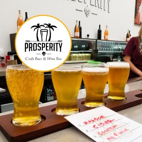 Prosperity Craft Beer & Wine Bar, Town Center Mall, Boca