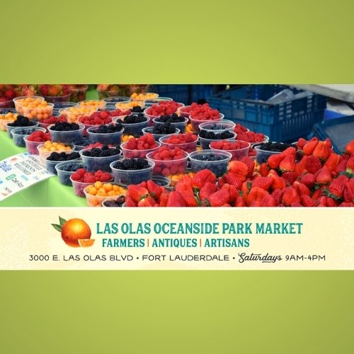 Las Olas Oceanside Park Farmer's, Antique and Artisan Market