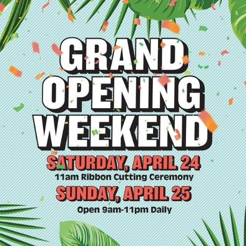 Delray Beach Market Grand Opening Weekend!