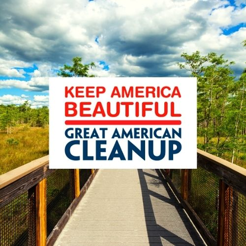 Great American CleanUp at Arthur R. Marshall Loxahatchee National Wildlife Refuge