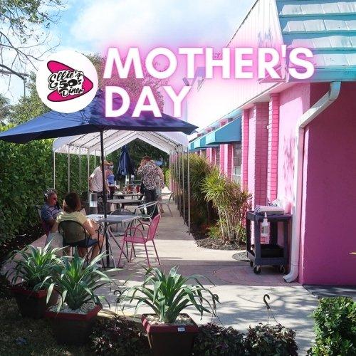 Mother's Day at Ellie's 50's Diner