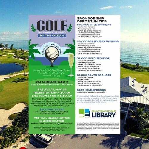 Golf By The Ocean with The Delray Beach Public Library