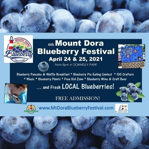 Mount Dora Blueberry Festival 2021