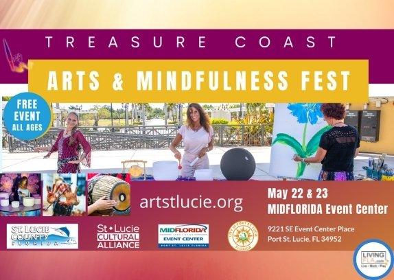 Treasure Coast Art and Mindfulness Fest, May 22 & 23