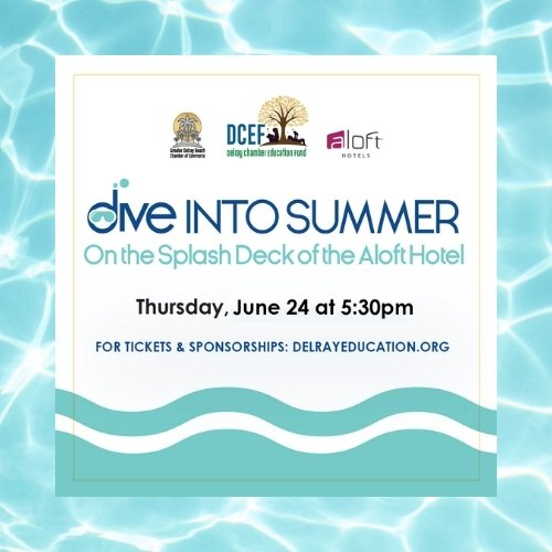Dive into Summer Rooftop Party and Help Support Delray Education