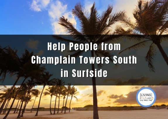 Help People from Champlain Towers South in Surfside Miami