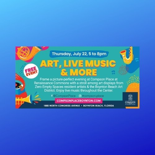 Art, Live Music & More at Compson Place
