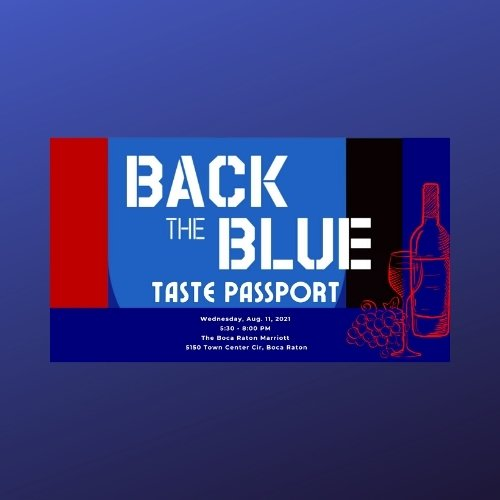 Back the Blue for the Boca Raton Police Foundation at the Boca Raton Marriott