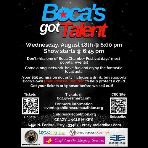 Boca's Got Talent at Crazy Uncle Mikes