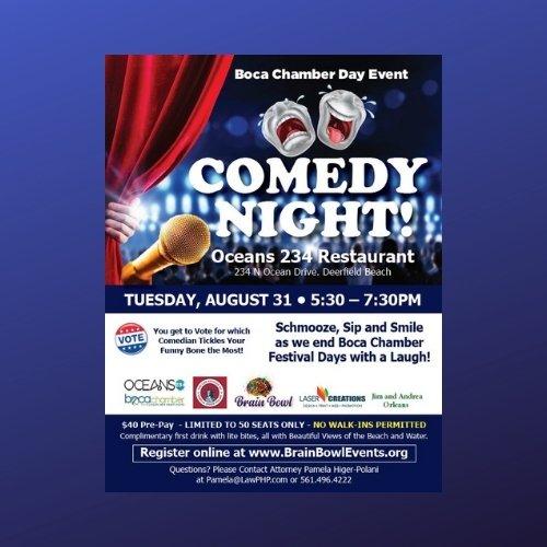 Brain Bowl Comedy Night