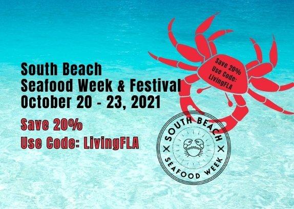 Save 20% South Beach Seafood Week 2021