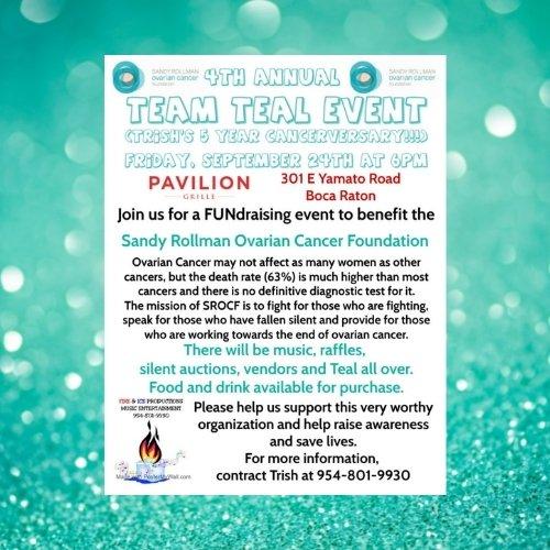 Team Teal Event