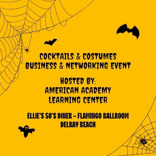 Cocktails & Costumes - Business & Networking Event Delray Beach
