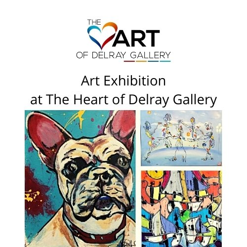 Art Exhibition at The Heart of Delray Gallery
