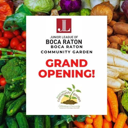 Grand Opening of Boca Raton Community Garden