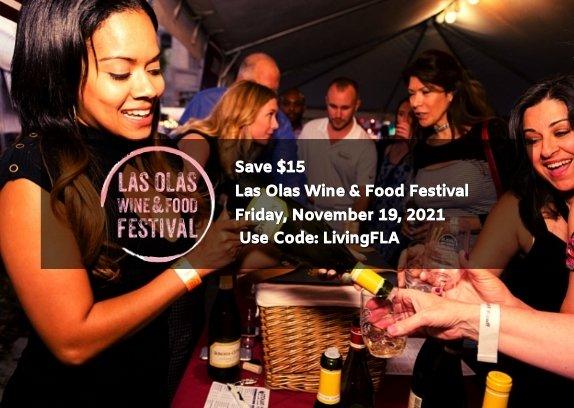 Save $15 Las Olas Wine & Food Festival