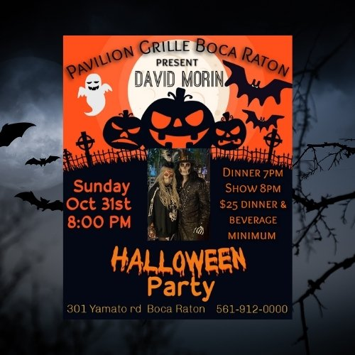 Halloween Party at Pavilion Grille with Live Music!